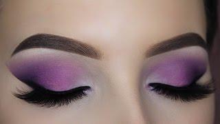 Smokey Purple Eye Makeup Tutorial (Matte)
