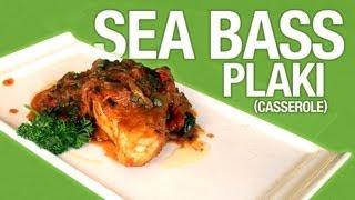 Foodwise - Tel'veh's Sea Bass Plaki (casserole)