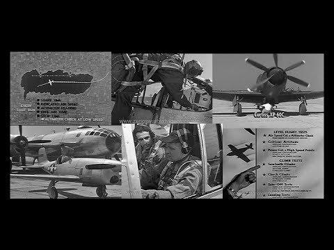 The Right Stuff: WW2 Test Pilot Training: (HD Restored 1944)