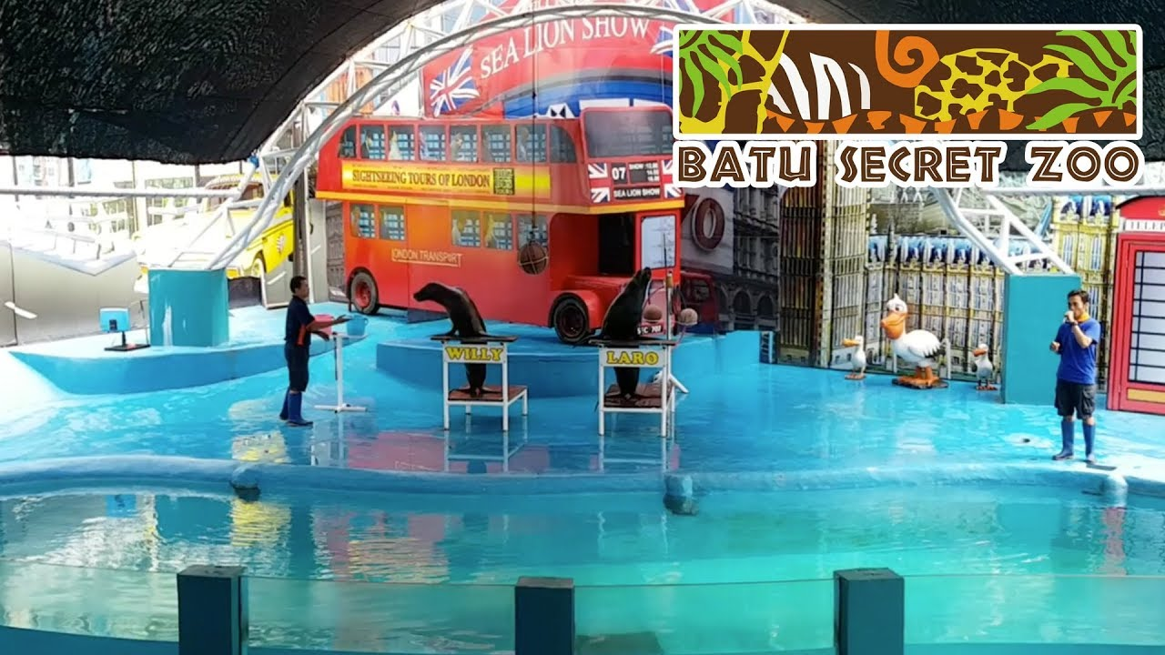 Batu Secret Zoo Jatim Park 2 Malang Youtube