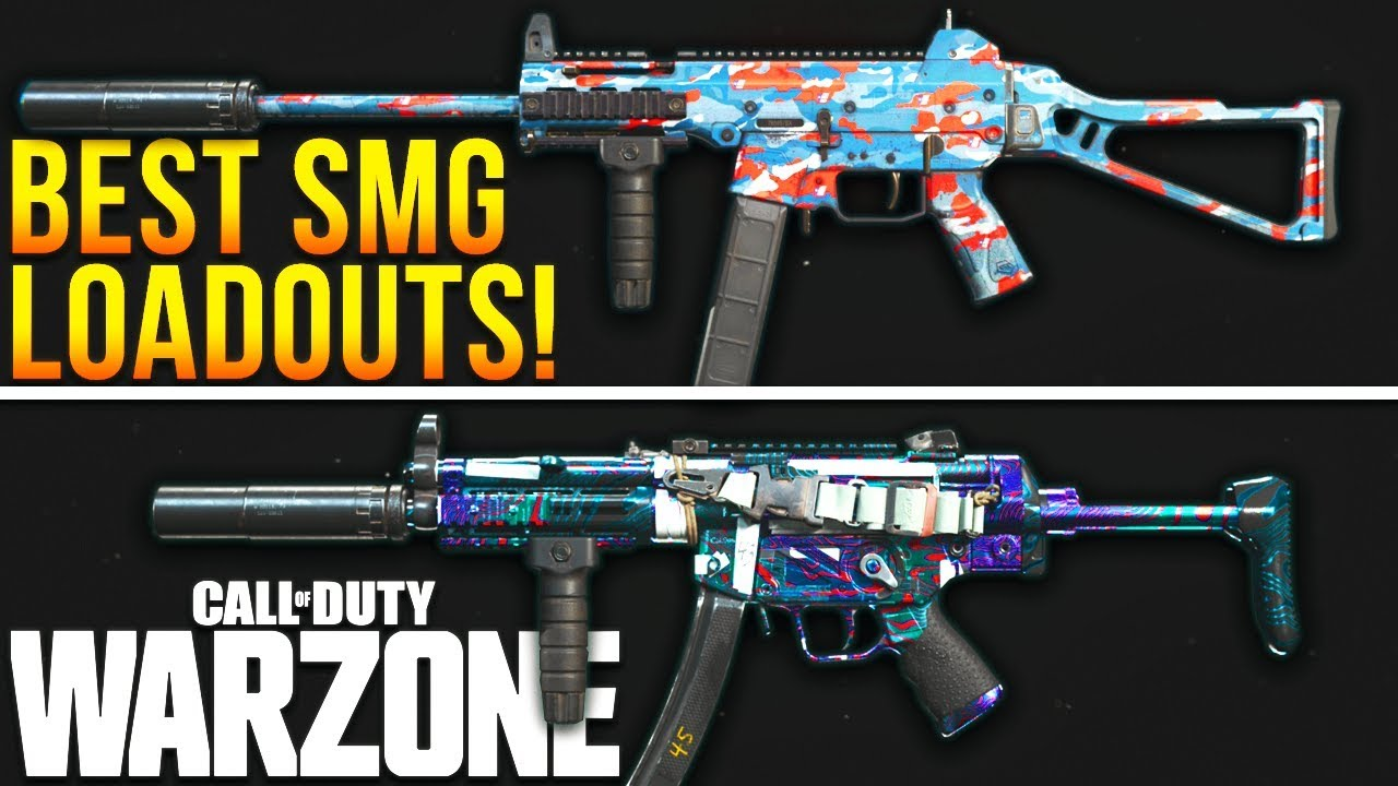 Call Of Duty Warzone The Best Loadouts For Every Smg Warzone Best Classes Youtube