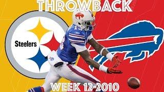 Steelers vs. Bills (Week 12, 2010) |