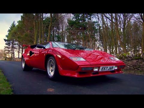 Lamborghini Countach Supercar - James May