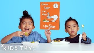 Kids Try Green Eggs from Around the World   Kids Try   HiHo Kids