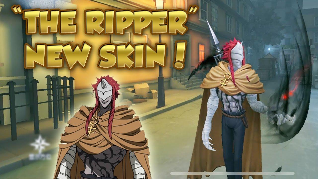 "Download #15 Ripper ""Sonju"" New Crossover Skin Gameplay! (The Promised Neverland )   Identity V   第五人格   제5인격"