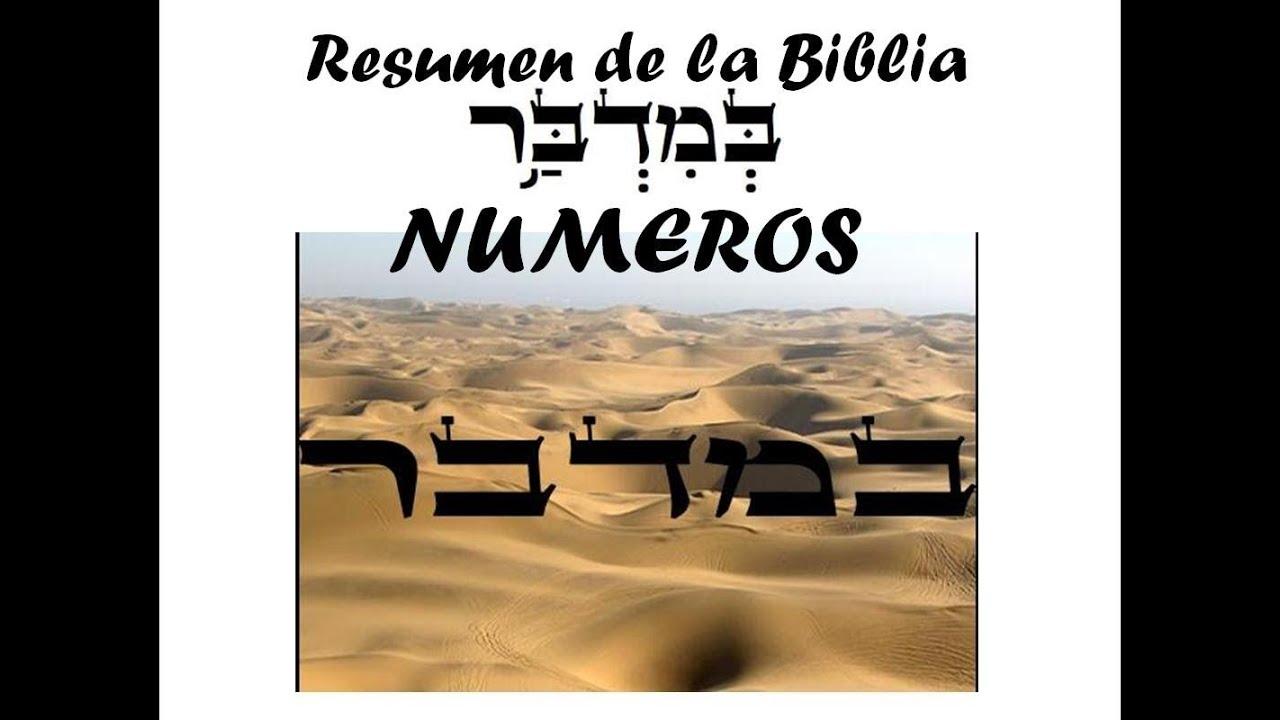 BIBLIA - NUMEROS - RESUMEN Y ANALISIS - YouTube
