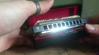 Fender Blues Deluxe Harmonica Unboxing and Review