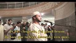 sourate Al Qasas versets 01 à 43 imam Rachid mosquée de Gennevilliers Ramadan 1432