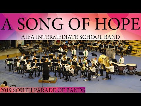 A Song of Hope | Aiea Intermediate School Band | 2019 South POB