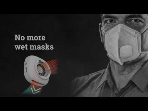 AIR+ Smart Mask - No More Wet Masks