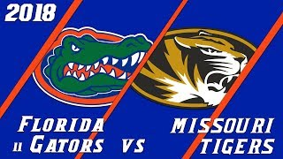18.9 Florida Gators vs Mizzou Condensed