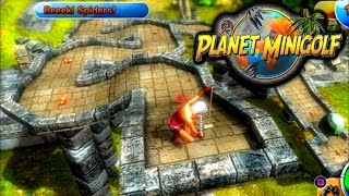 POWERUPS & COLLISIONS - PLANET MINIGOLF