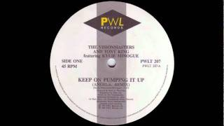 The Vision Masters & Tony King Kylie Minogue - Keep On Pumpin