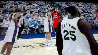 NBA Elite 11 PS3 Gameplay 2: New Jersey Nets vs Utah Jazz