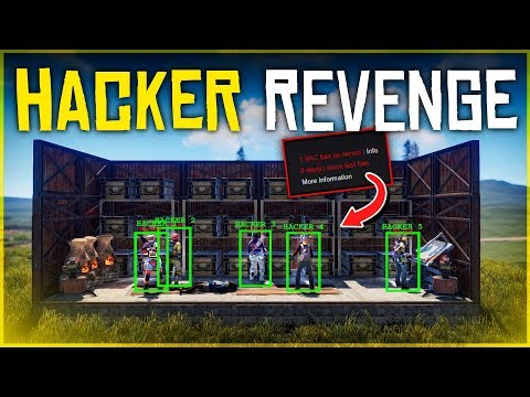 HACKER CLAN Gets Baited into TRAP BASE - Rust Trap Base Gameplay