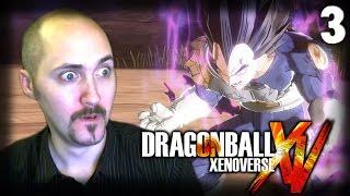 Сайянский принц Веджета! [Dragon ball Xenoverse]#3
