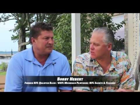 Mike Hagen and Bobby Hebert