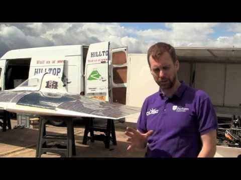 Durham University's solar powered car prepares for a 3000km race in Australia