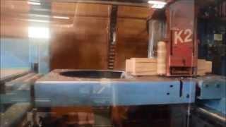 Harmony Timberworks Hundegger K2 Cutting Tenons