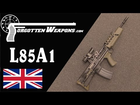 Enfield L85A1: Perhaps the Worst Modern Military Rifle