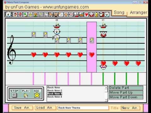 "Mario Paint - ""Electrifying"" (The Rock 2011 Theme)"