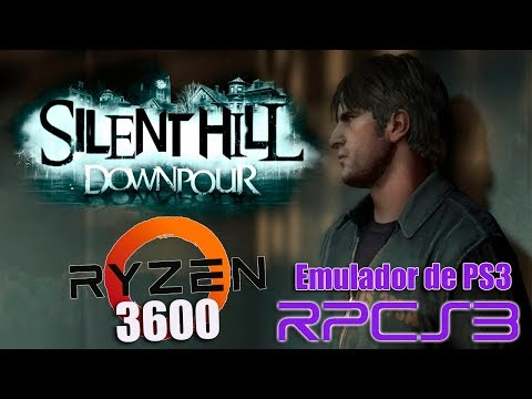 SILENT HILL DOWNPOUR (RPCS3) | EMULADOR DE PS3 | 60FPS NO AMD RYZEN 3600
