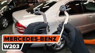 Гледайте видео ръководство за това как да заменете Носач На Кола на MERCEDES-BENZ C-CLASS (W203)