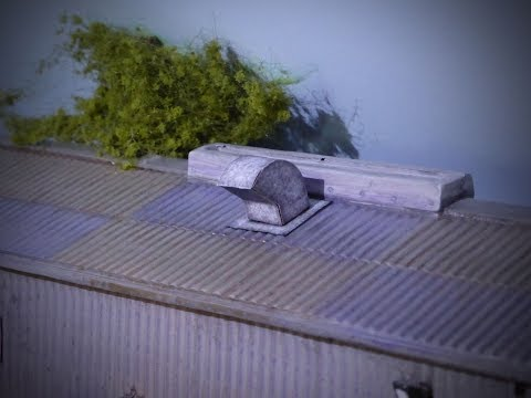 Building A Model Railway – Scenics