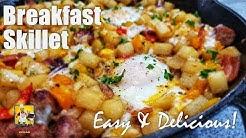 Breakfast Skillet Recipe   Brunch Ideas   #BreakfastwithAB