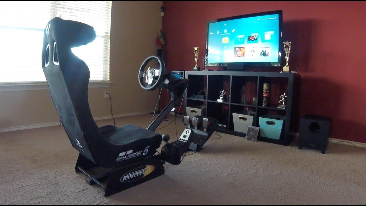 Gran Turismo Gameplay With Playseat Amp Logitech Racing