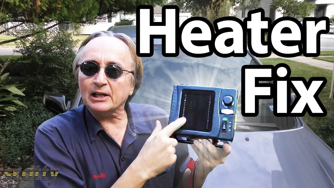 How To Fix Car Heater Cheaply Youtube