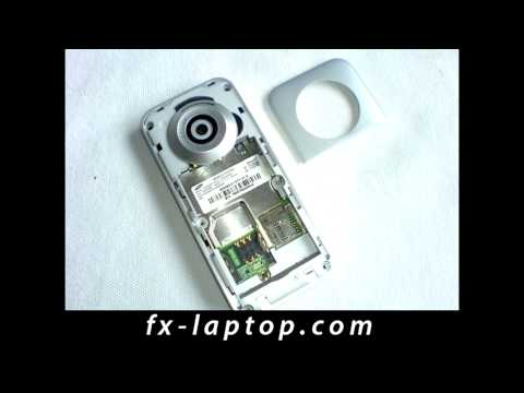 Disassembly Samsung E590 - Battery Glass Screen Replacement