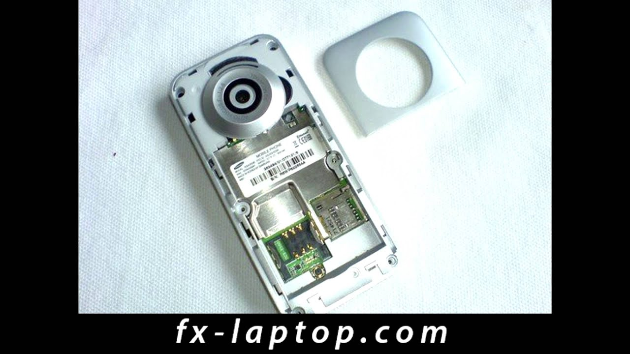 Samsung E590 Disassembly Videos - Waoweo