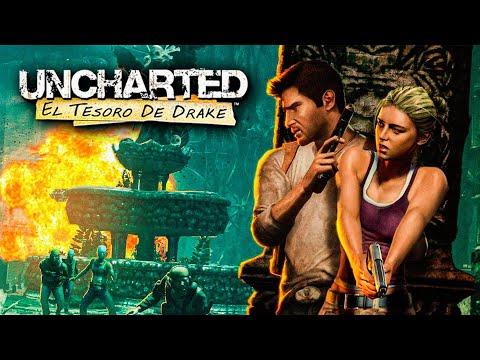 MI PRIMERA VEZ 😌 - Especial Uncharted 1 Completo