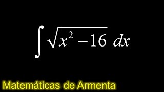 integracion por sustitucion trigonometrica ejemplo 15