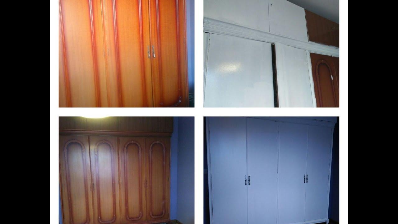 Pintar puertas de armario empotrado for Reformar puertas