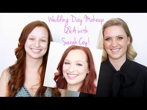 Wedding Day Makeup ♥ Q&A collaboration with Sarah Coy