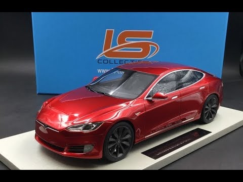 unboxing la tesla model s p100dl facelift de chez ls. Black Bedroom Furniture Sets. Home Design Ideas