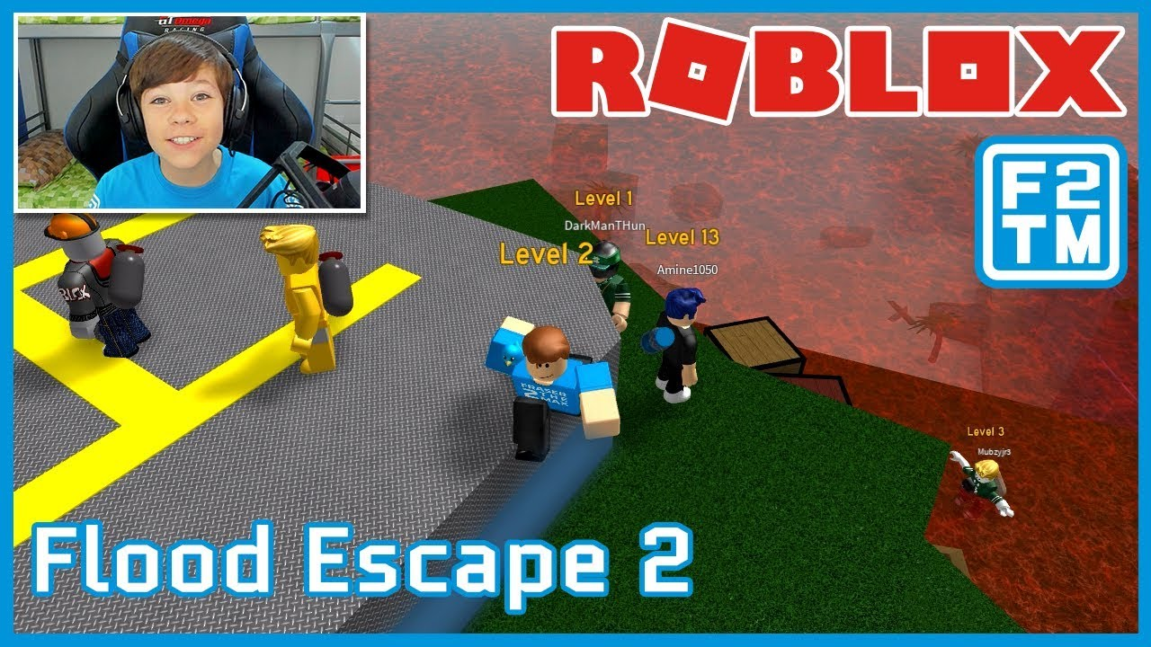 Roblox Flood Escape 2 Fraser2themax Roblox Gaming Youtube