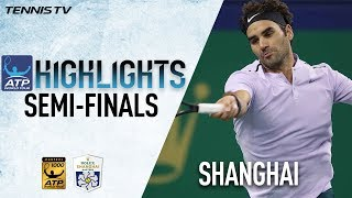 Highlights: Federer, Nadal Set Shanghai Final Showdown