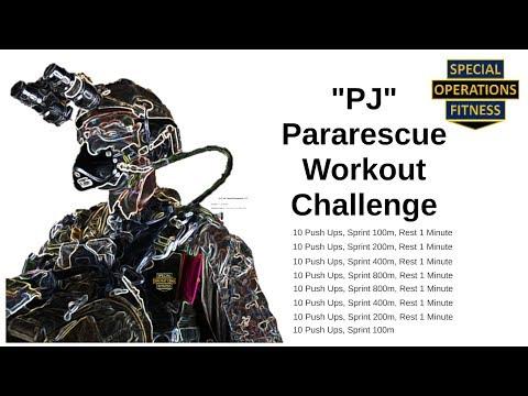 "Pararescue ""PJ"" Fitness Challenge"