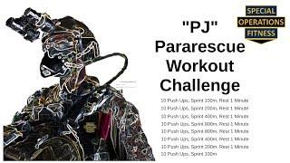 """Pararescue """"PJ"""" Workout Challenge"""