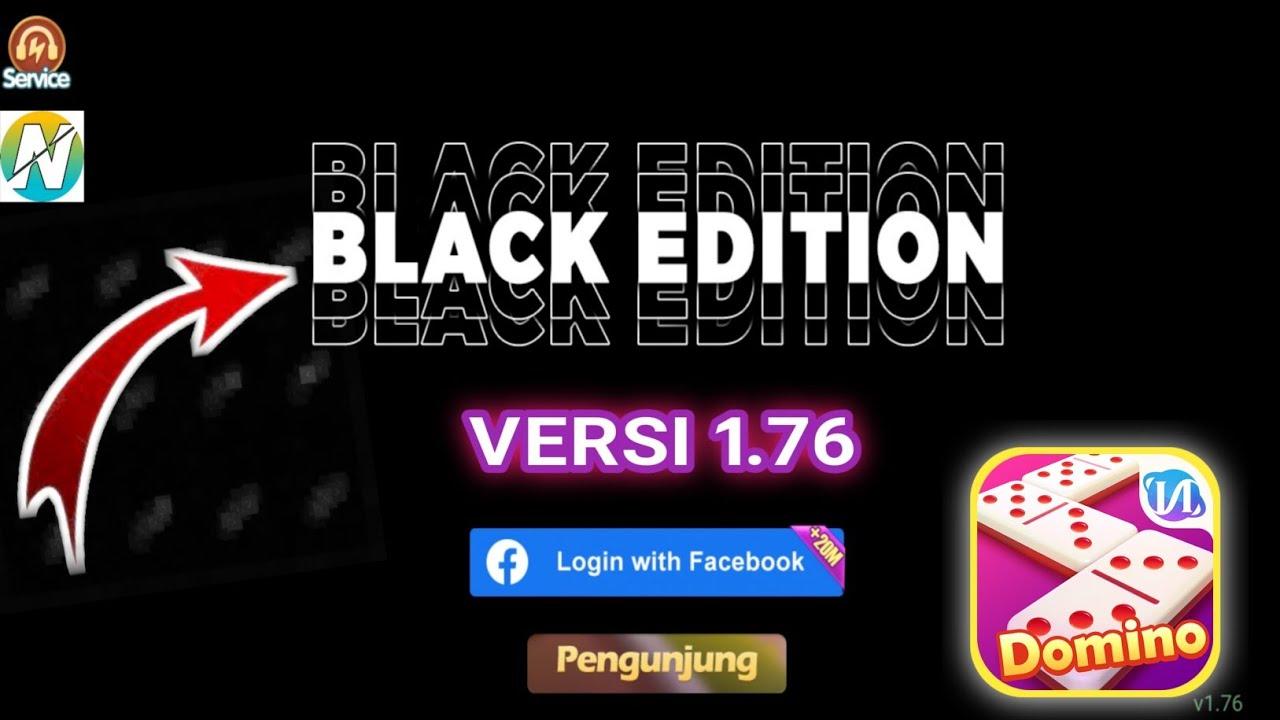 higgs domino N versi 1.76 tema black edition + dj viral tiktok | x8 speeder tanpa iklan