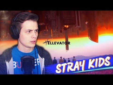 Stray Kids - Hellevator (M/V) РЕАКЦИЯ