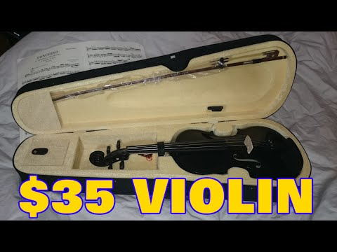 $35 DOLLAR VIOLIN on AMAZON -  Goplus REVIEW