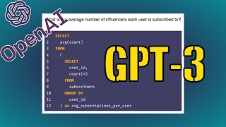 OpenAI's New Language Generator: GPT-3 | This AI Generates Code, Websites, Songs & More From Words