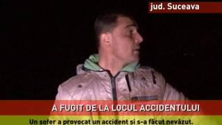 Grav accident lângă Suceava! Două persone au fost rănite