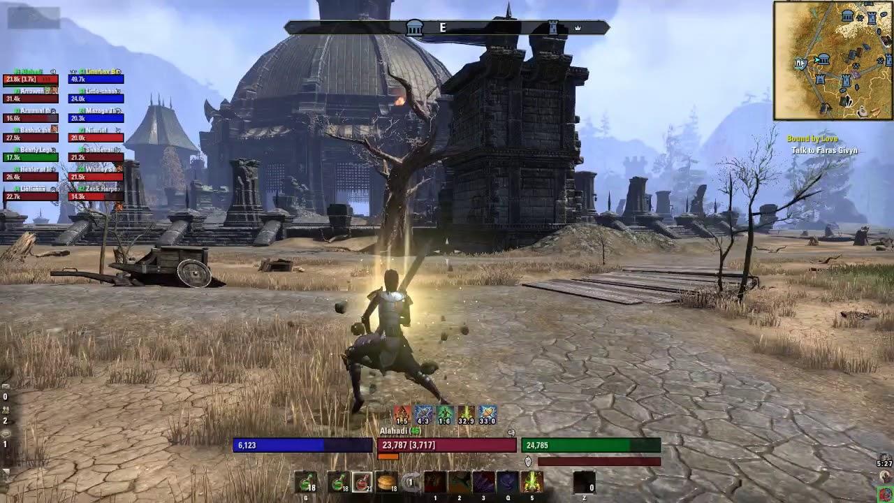 ESO- A Guild wars 2 Player coming into ESO WvW