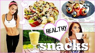Healthy After School Snacks | Easy & TASTY 5 Min Recipes