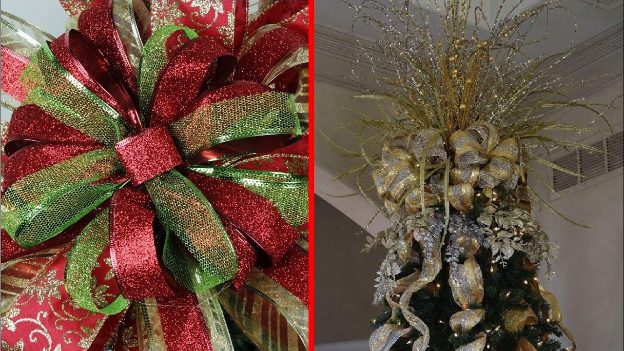 Como hacer un mo o de navidad para el pino facil mo os - Lazos arbol navidad ...